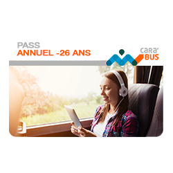 Pass Annuel – 26 ans