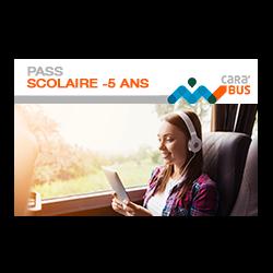 Pass Scolaire – de 5 ans